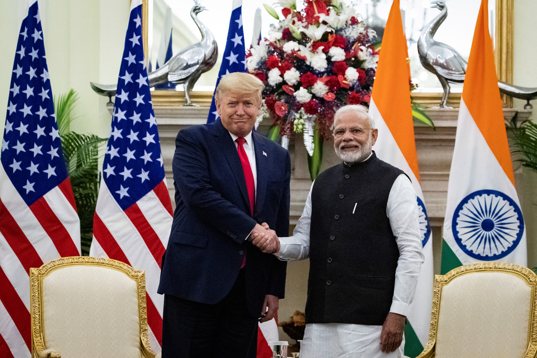 Hindu, Muslim clashes kill 13 in Delhi as Modi, Trump talk