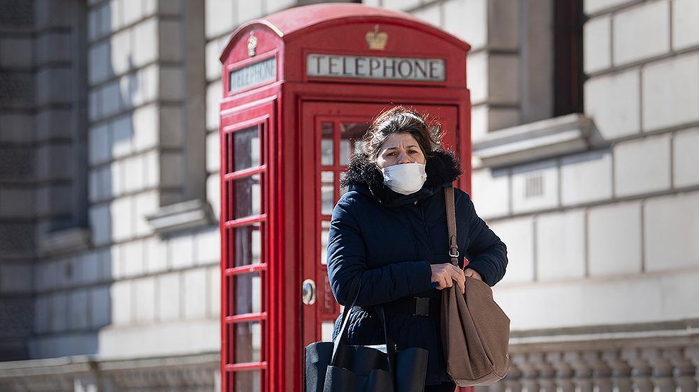 Coronavirus in UK news