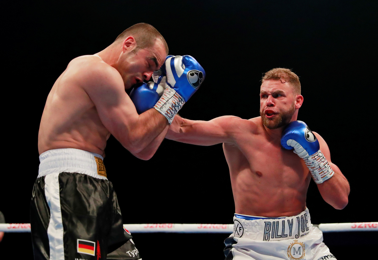 World champion boxer Saunders sorry for 'hit women' coronavirus video