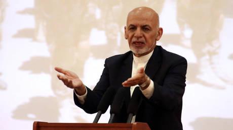Afghanistan's President Ashraf Ghani speaks in Kabul, Afghanistan. September 2019. © Reuters / Omar Sobhani