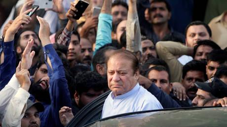 FILE PHOTO: Former Pakistani Prime Minister Nawaz Sharif