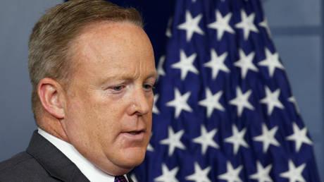 FILE PHOTO: Former White House spokesman Sean Spicer.
