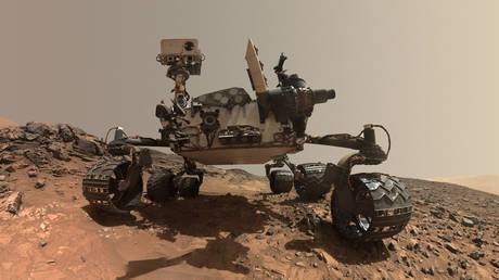 The Curiosity rover has made a fascinating discovery on Mars. © NASA Jet Propulsion Laboratory