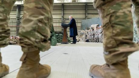 FILE PHOTO: US President Donald Trump, November 30, 2019, Afghanistan © Global Look Press / White House