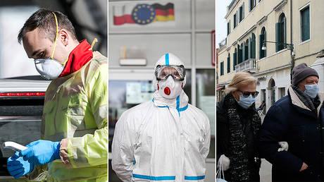 (L) © Getty Images/Jan Hetfleisch; (C) © Getty Images/Maja Hitij; (R) © REUTERS/Manuel Silvestri