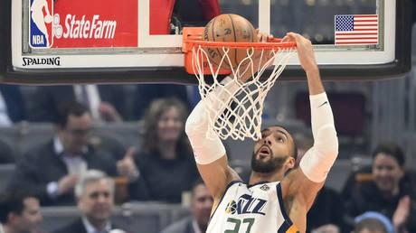 Utah Jazz center Rudy Gobert (27)  © Reuters /USA TODAY Sports /David Richard