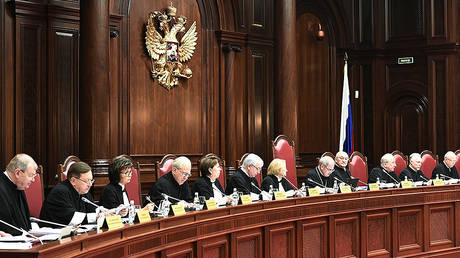 FILE PHOTO Russian Constitutional Court