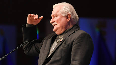 Former Polish President and Nobel Peace Laureate, Lech Walesa. © AFP / Christof Stache