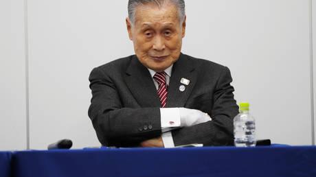 Yoshiro Mori, President of the Tokyo 2020 Olympic Games Organising Committee. ©REUTERS / Issei Kato