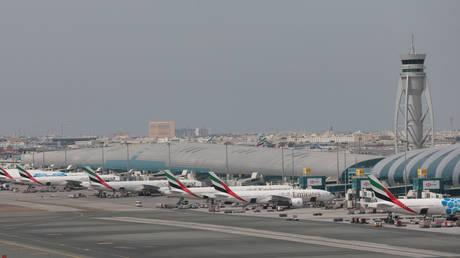 FILE PHOTO. A general view of Dubai International Airport.