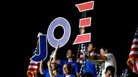 Democrat centrist darling Joe Biden sweeps southern states as polls close in AL, AR, ME, MA & OK
