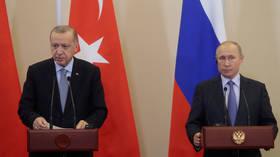Russia hopes Putin, Erdogan can agree joint measures at Syria talks, Kremlin says