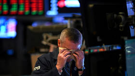 Russian stock markets catch up to global equity losses after oil price crash