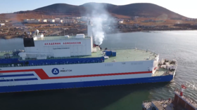 World's ONLY floating nuclear power plant project goes fully operational in Russia (PHOTOS, VIDEO)