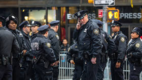 NYPD officers caught in shocking VIDEO brutalizing unarmed black man for unspecified 'crime'