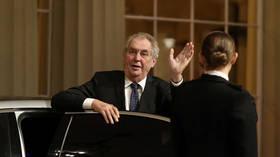 Anti-Russian sanctions are ineffective, Czech president Zeman says