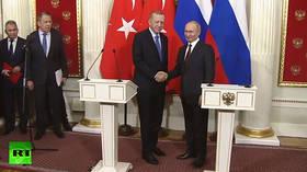 Idlib ceasefire: Putin & Erdogan reach deal on Syria de-escalation after marathon Moscow talks