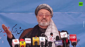 Dozens killed as Afghan ceremony attacked while peace council chairman delivered speech (VIDEO)