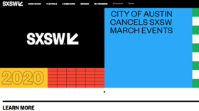 SXSW submits to coronavirus fears: Austin cancels biggest tech, film & music festival for first time EVER