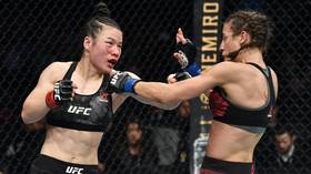 'She was crying for hours': UFC champ Zhang details hospital stay with Jedrzejczyk after slugfest left Pole with huge hematoma