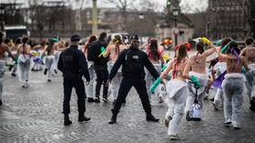 Protests, clashes & bare breasts: Rallies mark International Women's Day worldwide (VIDEOS)
