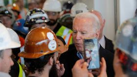 'You're full of s**t': Biden fights with Michigan factory worker over gun laws and 'shushes' female staffer