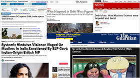 How MSM and Western leaders unleashed weapons of mass hypocrisy on India after CAA, Delhi riots