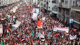 Saudi-led coalition 'blocks Yemeni separatist leaders' from returning to Aden – report
