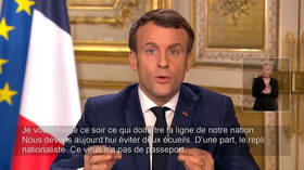 'Coronavirus has no passport!' Macron insists no need to close French borders unless EU agrees, as he orders school & uni shutdown