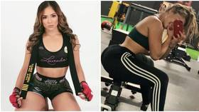 'The most natural body a woman can have': Bellator babe Loureda laughs off 'implants' comment (PHOTOS)