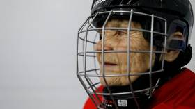 Skating at 80: Meet the great grandmother who took up ice hockey at 80 YEARS OF AGE