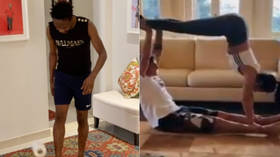 Toilet paper juggling, tea bag sorting & home exercise: Footballers find novel ways to beat coronavirus lockdown boredom (VIDEO)