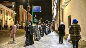 Praying to prevent coronavirus! Moscow monastery introduces nightly processions to fight Covid-19