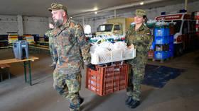 Germany calls up reservists to fight coronavirus