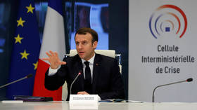 France is only at start of coronavirus crisis, President Macron warns