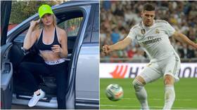 Real Madrid star Luka Jovic blames 'incorrect advice' after he 'broke coronavirus isolation to party with girlfriend in Serbia'