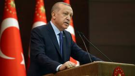 Erdogan orders all events in Turkey postponed until end-April