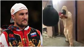 Coronavirus KO: Russia's Kovalev shares protective suit training video days after Barrera fight canceled (VIDEO)