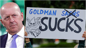 At least someone's doing well: Goldman Sachs gives CEO 20% raise as it forecasts coronavirus crash for America