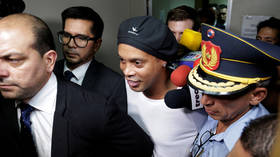 Birthday to forget: Brazil icon Ronaldinho turns 40 while languishing in Paraguayan jail... and could be there for 6 more months