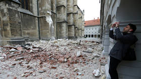 1 critical as magnitude 5.3 earthquake hits capital of Croatia, damages buildings and iconic cathedral (VIDEO, PHOTOS)