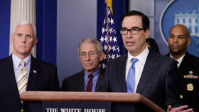 'Nobody knew Covid-19 would take off like it did': Mnuchin says coronavirus looks like 10 to 12 week scenario
