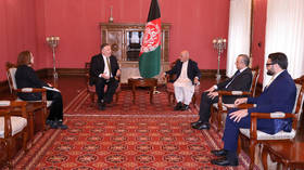 Pompeo in Kabul on unannounced visit to discuss Taliban deal with Afghan political rivals