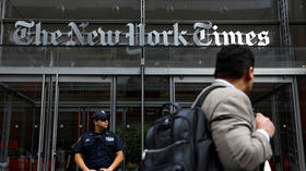 NYT spins stimulus bill story by repeatedly changing headline after Dems 'block action'