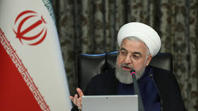 President Rouhani says about half of Iran's state workers are staying home