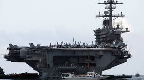 3 US Navy troops on board aircraft carrier in Philippines test positive for coronavirus in first-ever case on deployed ship