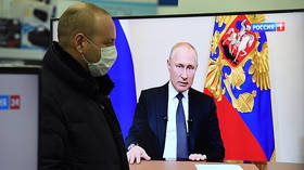 Holiday week, financial support for Covid-19 victims & taxes for rich: Putin lays out emergency virus plan