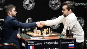 'Nepo-leonic' overture: Vachier-Lagrave crushes Nepomniatchi's French Defence, joins him as co-leader in World Chess Candidates