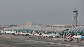 WATCH stranded Russian tourists PROTEST at Dubai airport after UAE denies entry to evacuation flight