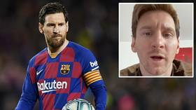 'Pass the message': Lionel Messi leads galaxy of stars calling on fans to unite to defeat coronavirus
